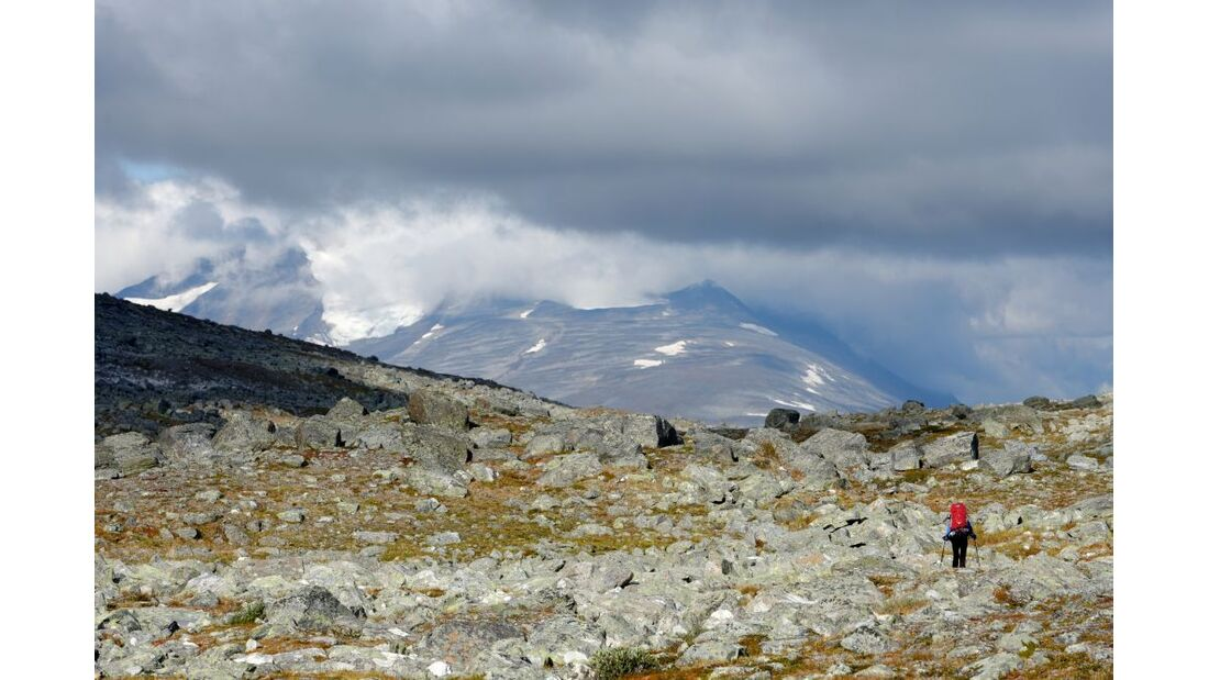 Wildnis-Trekking im Sarek 21