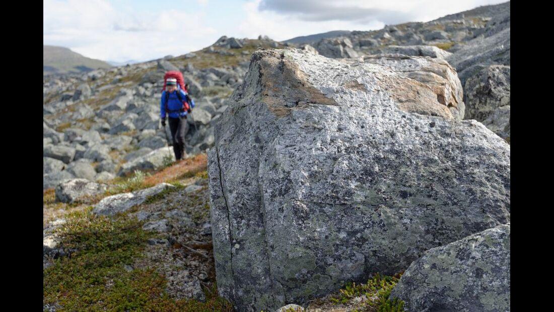 Wildnis-Trekking im Sarek 22