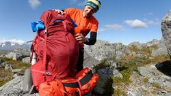 Wildnis-Trekking im Sarek 26