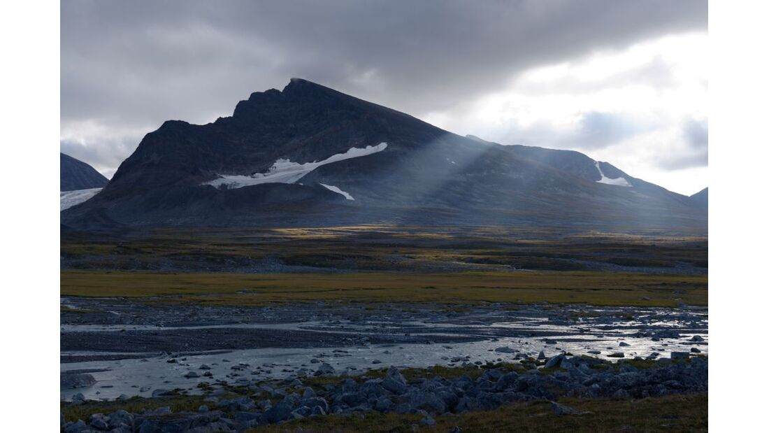 Wildnis-Trekking im Sarek 27
