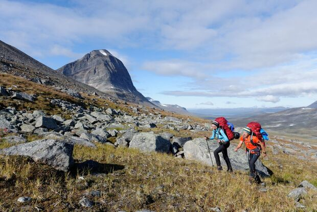 Wildnis-Trekking im Sarek 34
