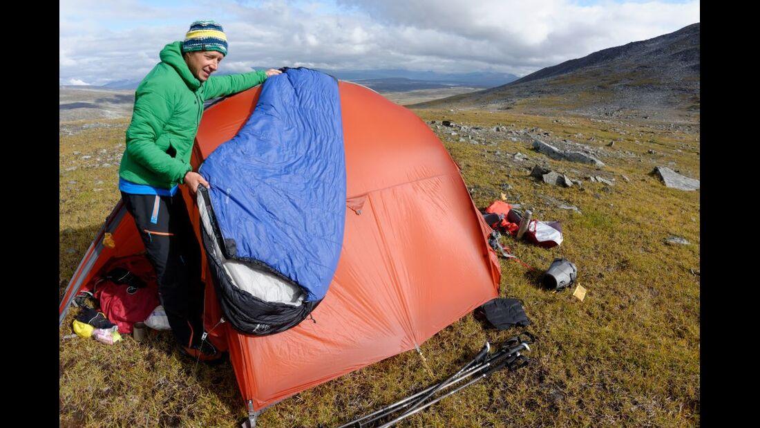 Wildnis-Trekking im Sarek 35