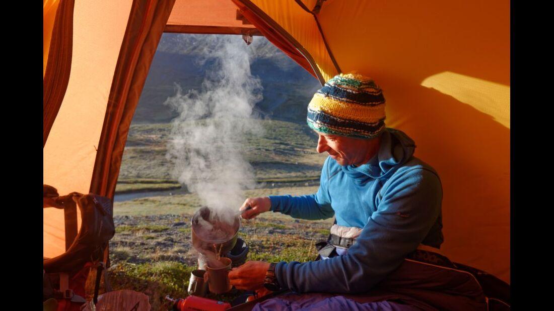 Wildnis-Trekking im Sarek 36