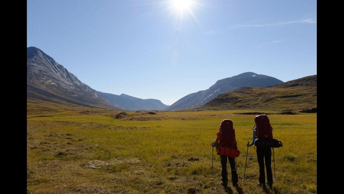 Wildnis-Trekking im Sarek 51