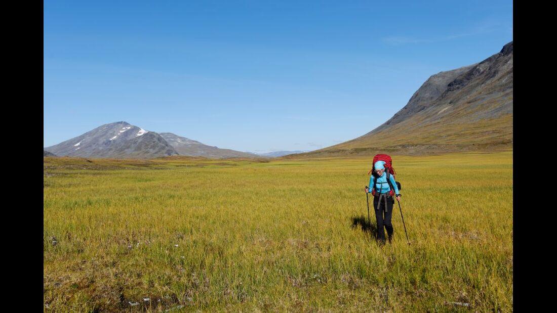 Wildnis-Trekking im Sarek 52