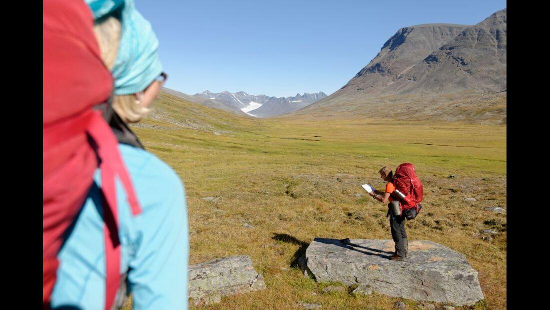 Wildnis-Trekking im Sarek 59