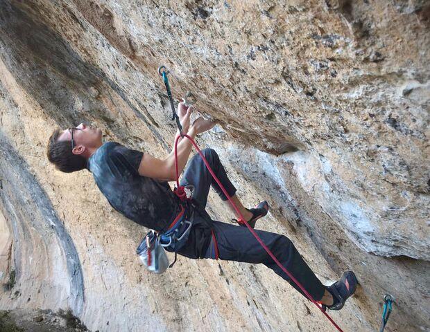 Will Bosi klettert La Capella 9b