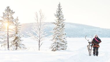 Winter-Insta-Orte. hier: Schweden (Lapland)