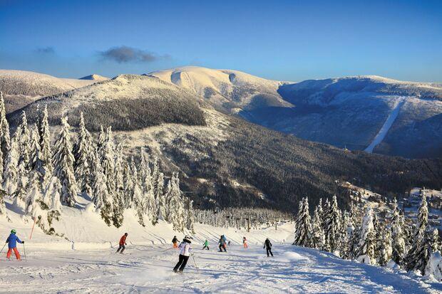 Winter im Riesengebirge - Tschechien