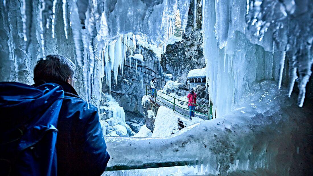Winter in Bayern - Allgäu - Breitachklamm