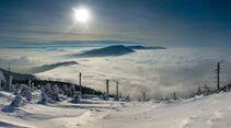 Winter in Tschechien - Beskiden