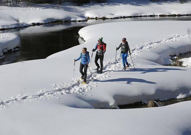 Winterabenteuer, Schneeschuhwandern Murtal