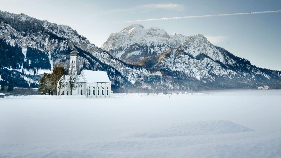 Winterlandschaft in Bayern - Allgäu