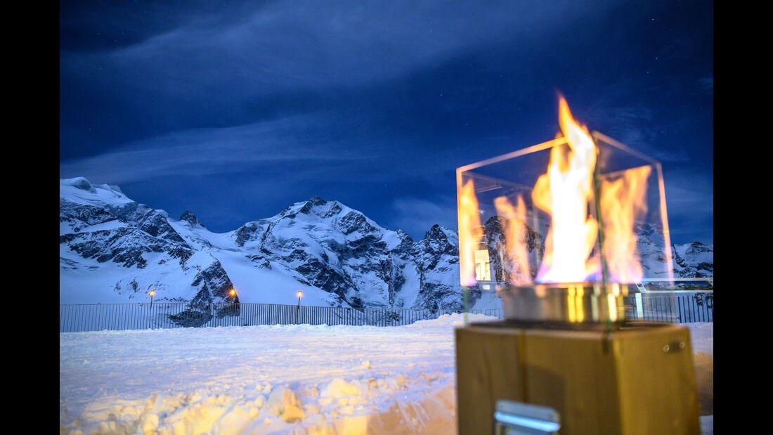 Wintersport im Oberengadin