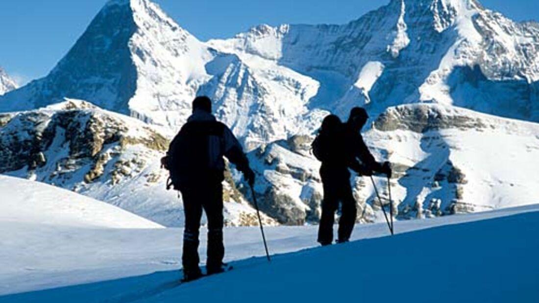 Winterwanderungen im Berner Oberland