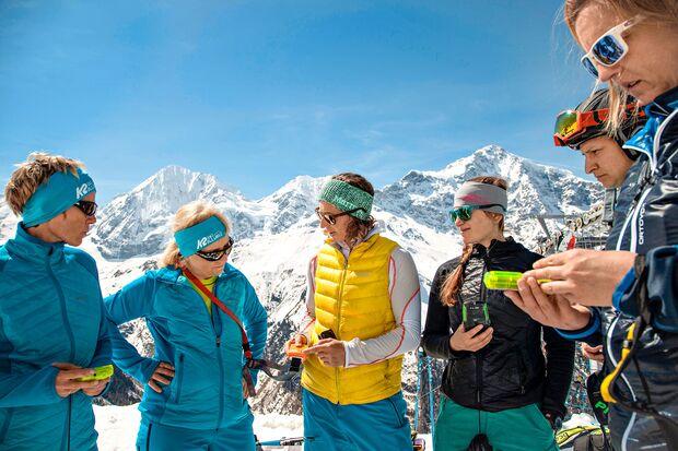 Womens-Wintercamp in den Alpen
