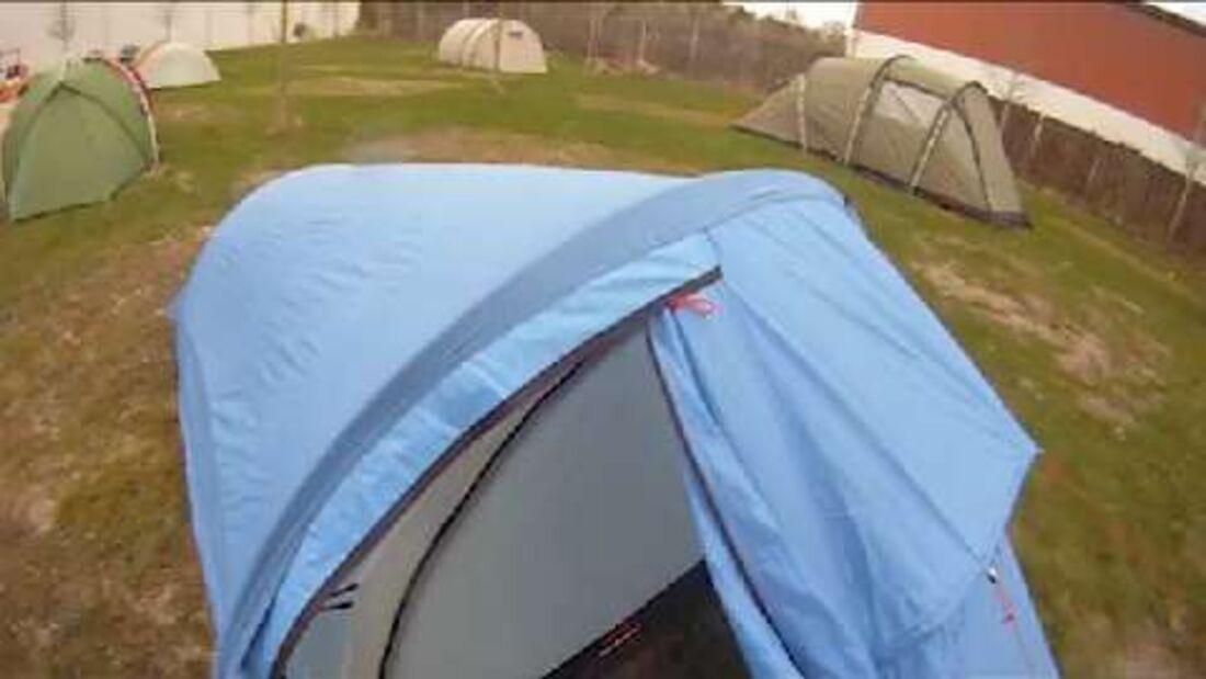 Zelt im Test 2013: Fjällräven Singi Lightweight 2