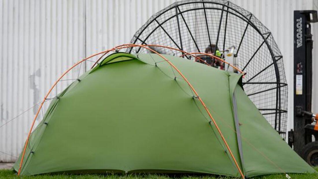 Zelte im Wind 2017