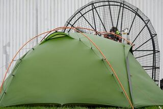 NORDISK Oppland 3 Personen Tunnelzelt Camping Outdoor Bike Trekking Zelt leicht