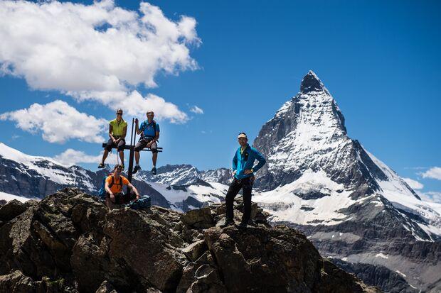 adidas Grip Challenge - Bilder aus Zermatt und Kals 21