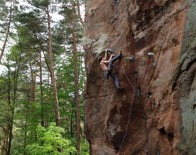 klettergebiete deutschland karte Klettern in Deutschland: die besten Klettergebiete | outdoor