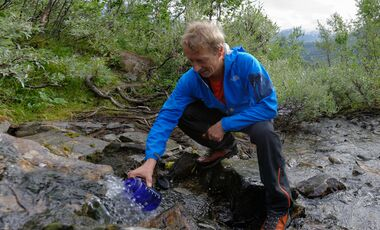 od-0815-trekkingrucksack-test-teaserbild Sarek Trinkwasser Wasser finden Boris