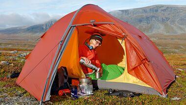 od-0815-trekkingrucksack-test-teaserbild Sarek Zelt Exped Orion Extreme 3 bZelten Kocher Kochen Wasser Boris