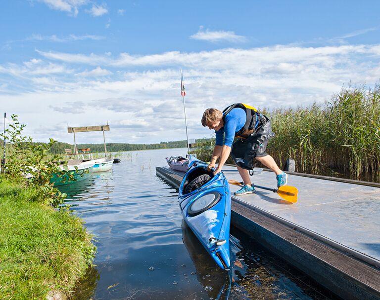 Mecklenburgische Seenplatte: Vier tolle Kanutouren outdoor