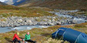 od-1217-trekkingtour norwegen zelt zelten camping kochen kocher wildnis ausrüstung tested on tour
