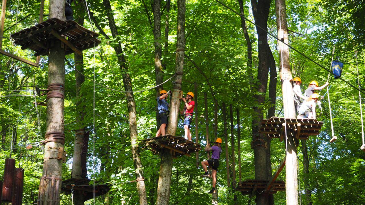 Rheinland Pfalz Kletterparks Hochseilgarten Klettersteige Outdoor Magazin Com