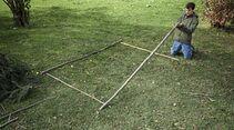 oudoor unterstand selbst gebaut bushcraft
