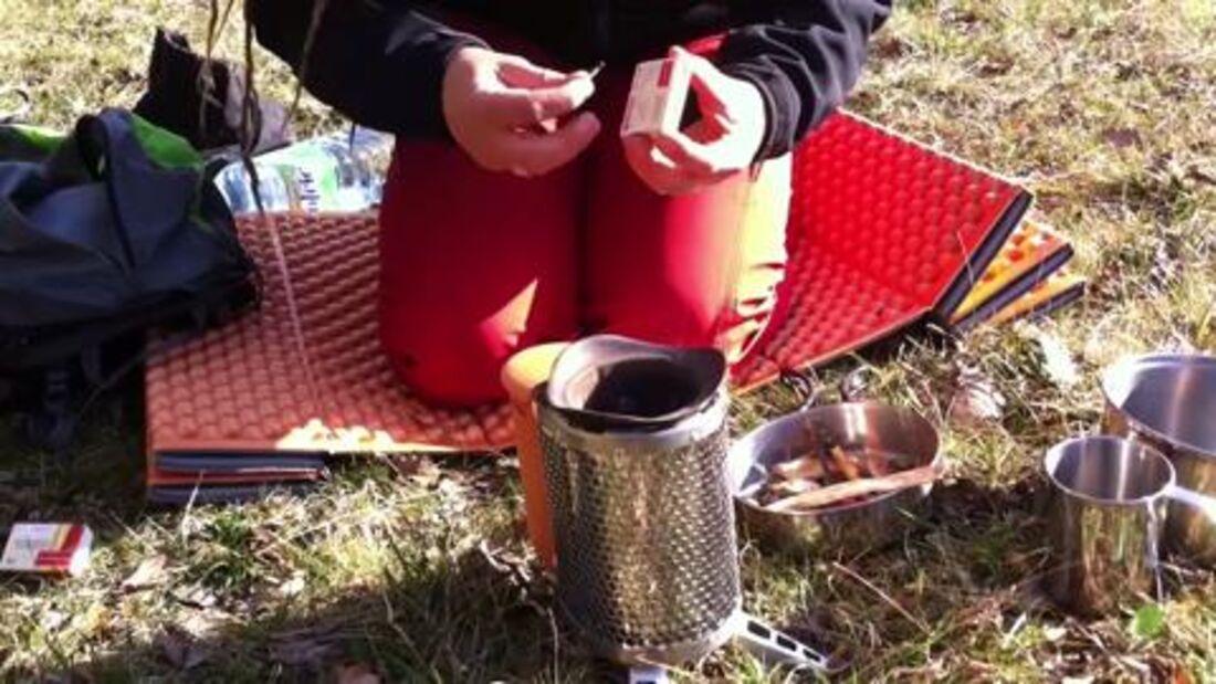 outdoor-Praxistest: Biolite Stove Kocher