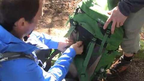 outdoor-Praxistipp: Trekkingrucksack anpassen