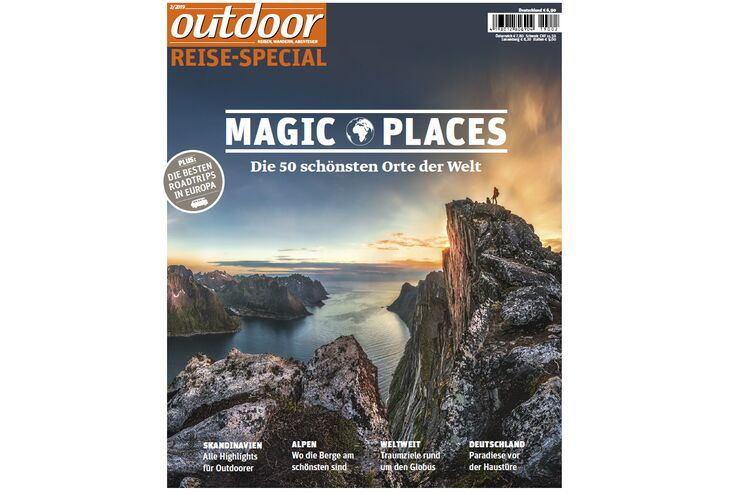 "outdoor Sonderheft ""Magic Places"""