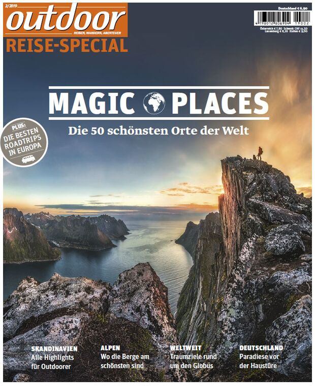 "outdoor Sonderheft ""Magic Places"""
