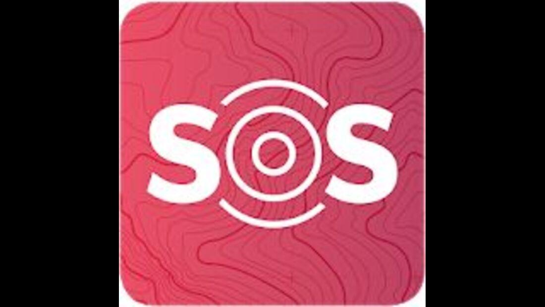 outdoor app sos eu alp logo