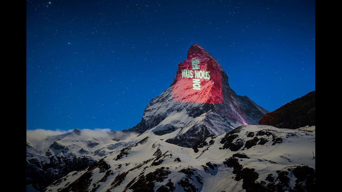 outdoor berg corona matterhorn beleuchtung wir
