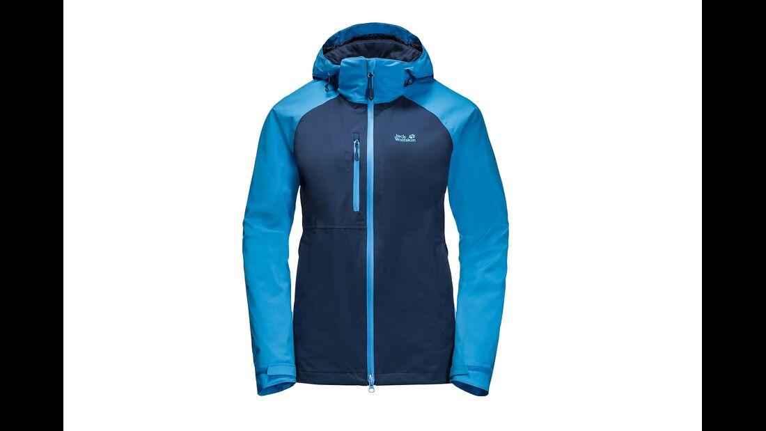 outdoor jack wolfskin mount enim jacket pfc frei regenjacke nachhaltig