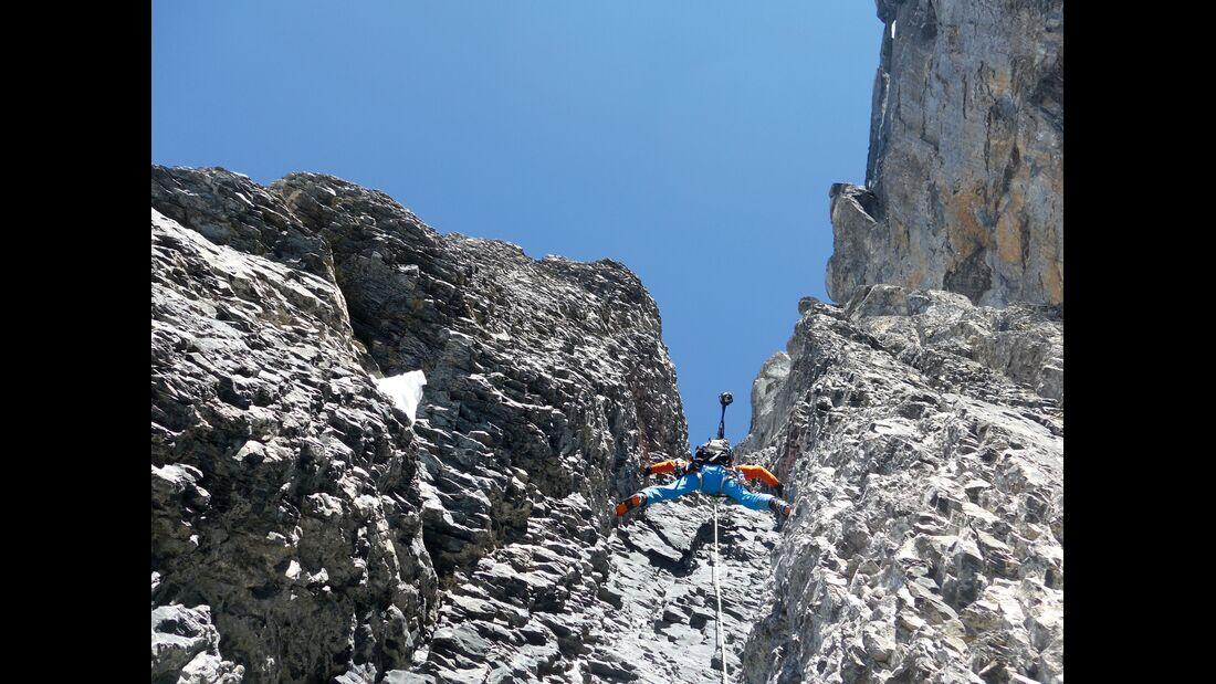outdoor klettern project360 mammut Eiger Nordwand