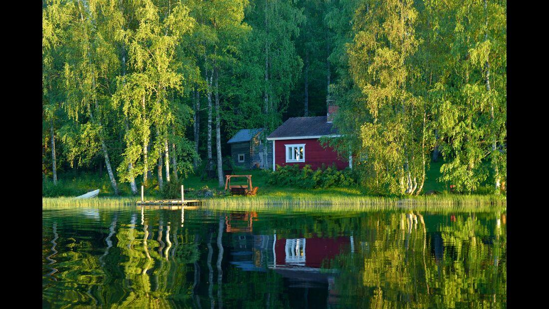 outdoor visit finland haus uurainen seenlandschaft