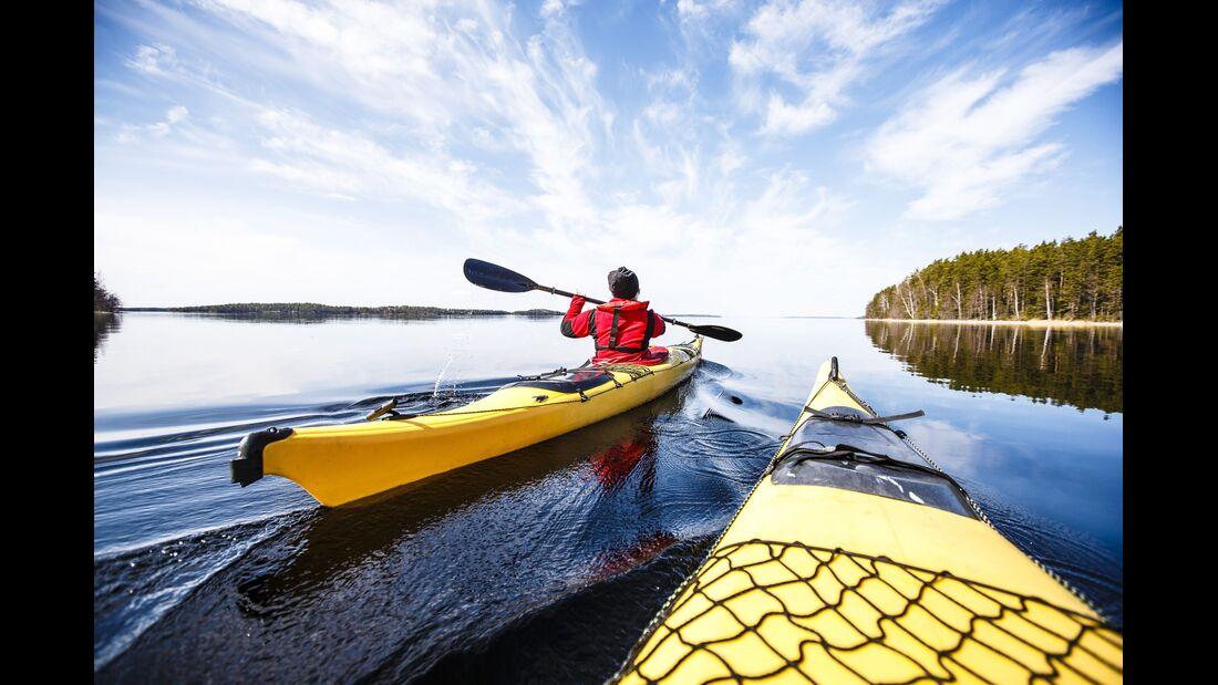 outdoor visit finland paddeln seeplatte form