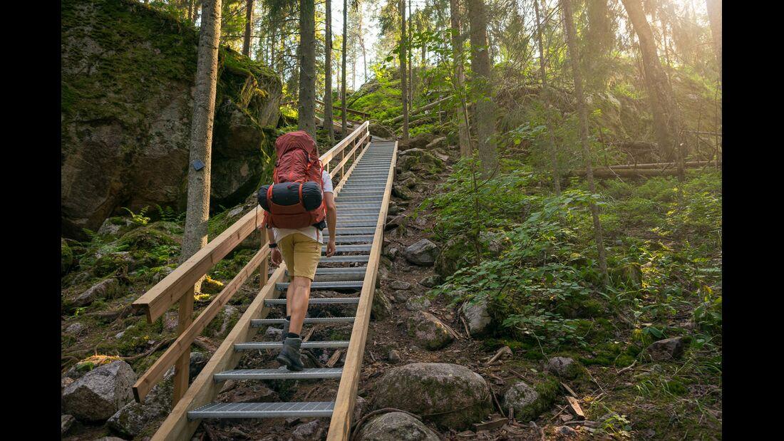 outdoor visit finland wandersteig nuuksio nationalpark