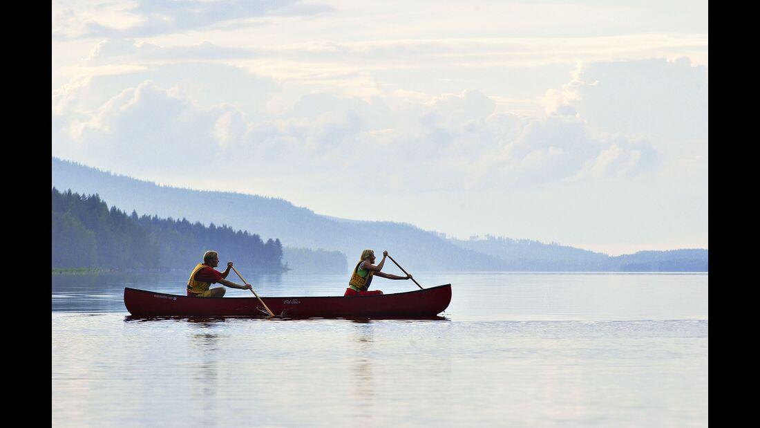 outdoor visit finland weite seenlandschaft lake pielinen