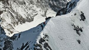 outdoor wandern project360 mammut Eigern Nordwand gipfel