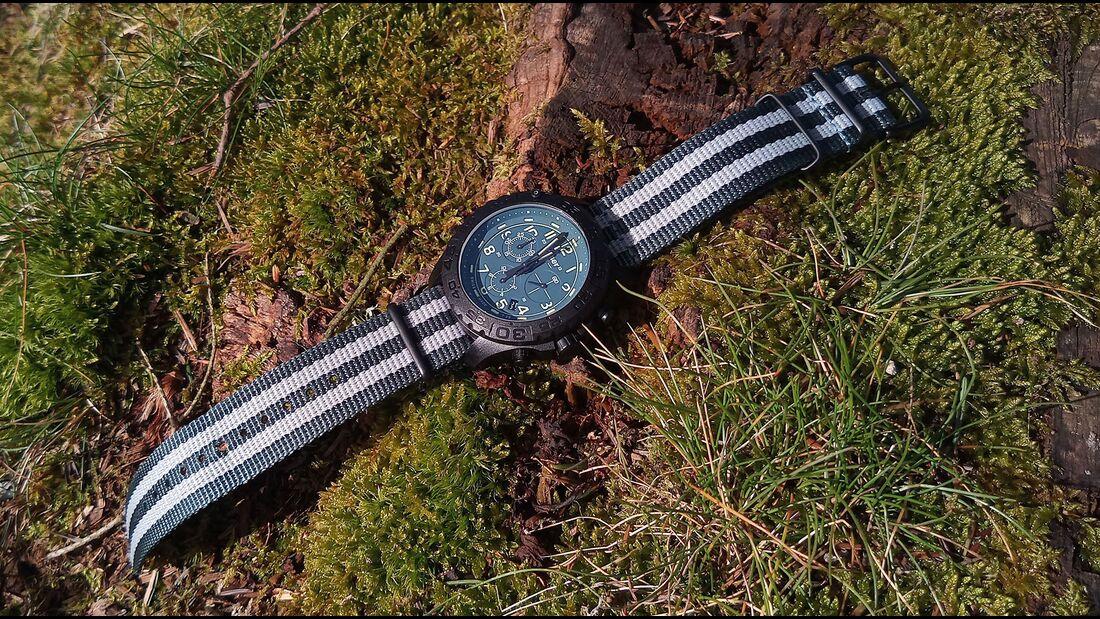 traser P96 OdP Evolution Chrono Petrol Uhr
