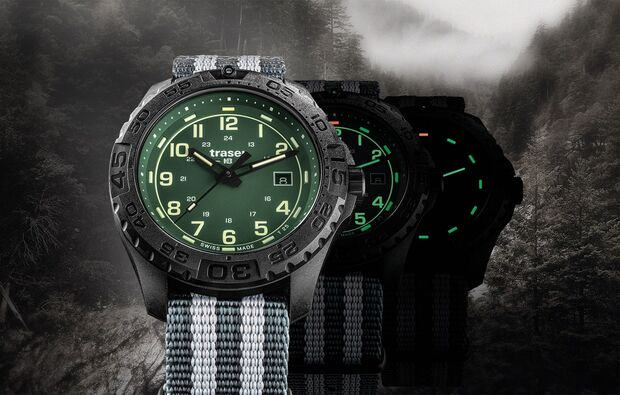traser P96 OdP Evolution green metamorphose uhr
