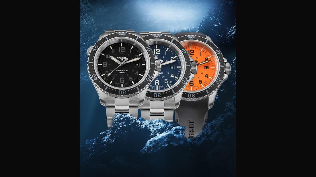 traser, Uhren-Modelle