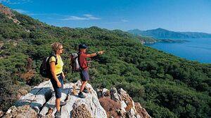 wandern an der Türkischen Riviera